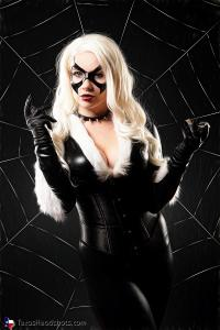 Fort Worth Grand Prairie Arlington Dallas Creative Cosplay Black Cat Portrait Photography 122